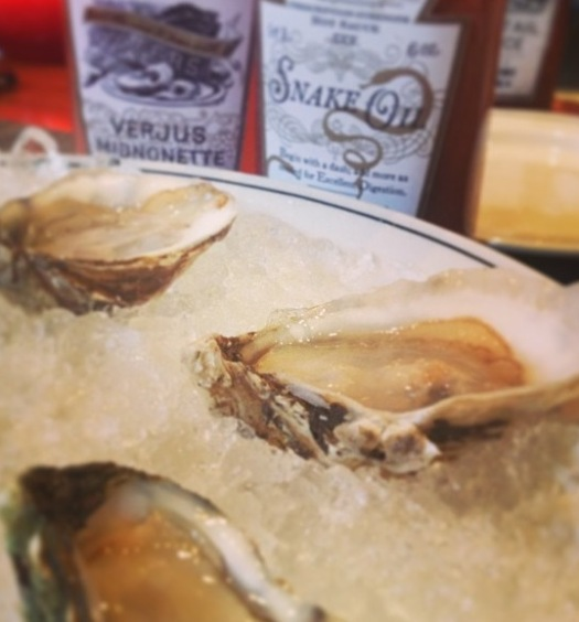 oysters at WK