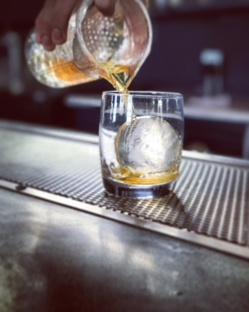 old fashioned pour